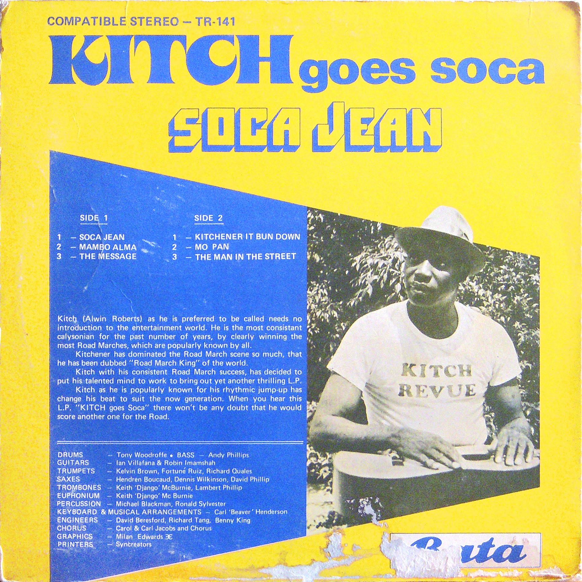"Lord Kitchener ""kitch Goes Soca"""